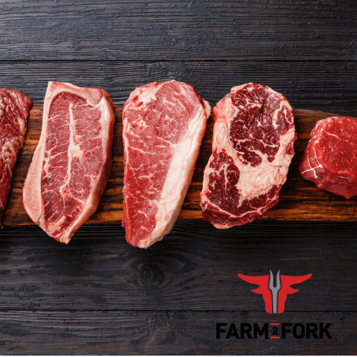 Farm 2 Fork Signature Naturally Raised Beef Variety Pack