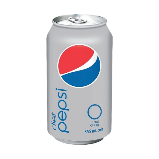 Diet Pepsi, Can, 355ml