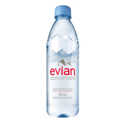 Evian Water, 500ml