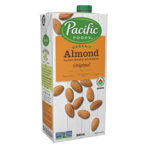 Organic Almond Milk, Original, Non-Dairy, Pacific Natural Foods