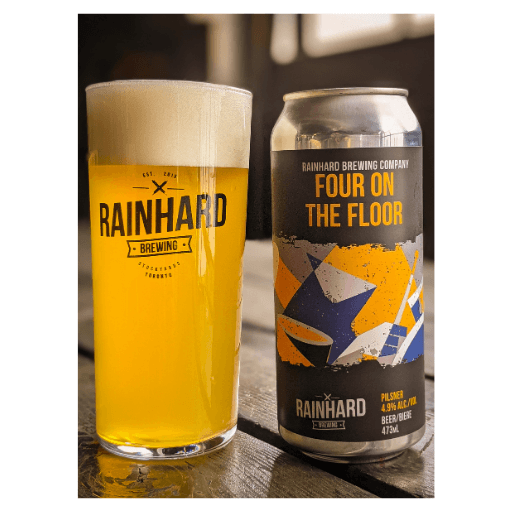 Four on the Floor, Pilsner, Rainhard Brewing
