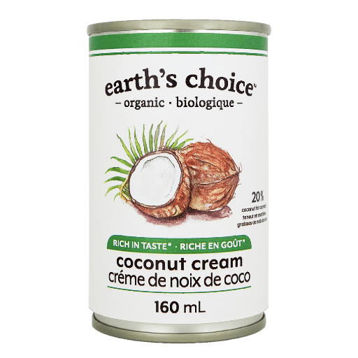 Coconut Cream, Organic, Earth's Choice, Small