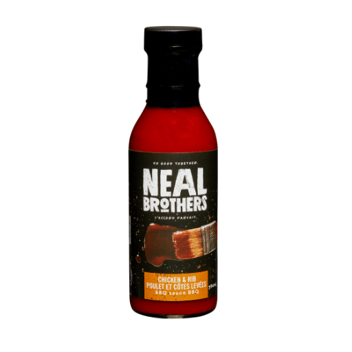 BBQ Sauce, Chicken & Rib, All Natural, Neal Brothers