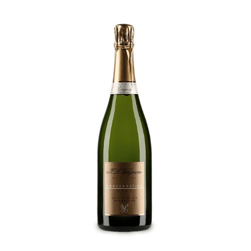 Champagne Brut Grand Cru Conversation Blanc de Blancs by JL Vergnon NV