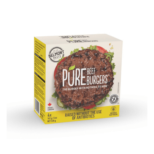 Pure Burgers, Beef Burger without Antibiotics