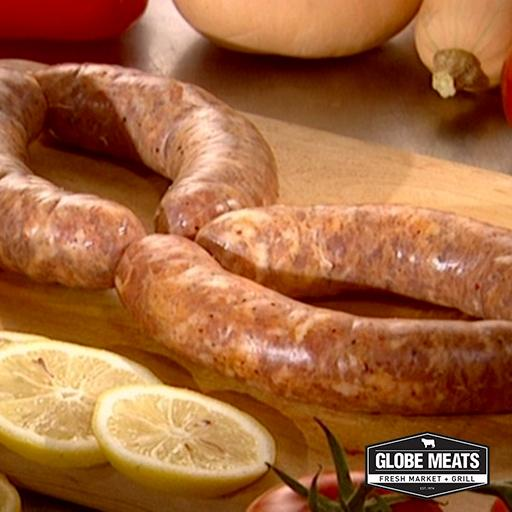 Italian Pork Sausages, Hot, Fresh