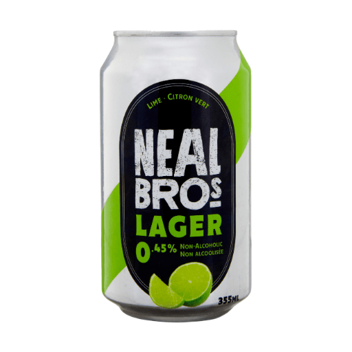 Non-Alcoholic Beer, Lime, 0.45%, Neal Brothers