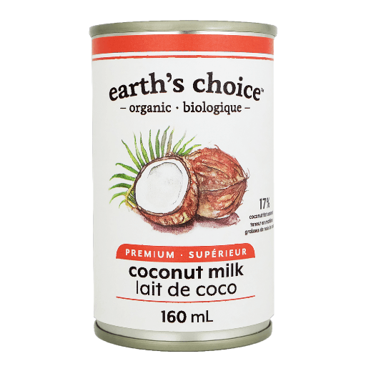 Coconut Milk, Organic, Earth's Choice, Small