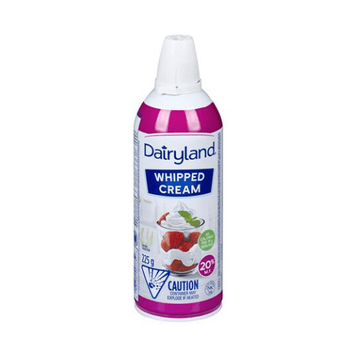 Aerosol Whipping Cream