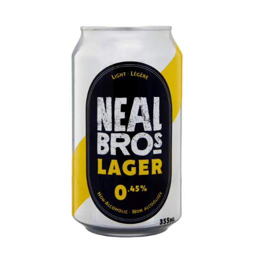 Non-Alcoholic Beer, Light, 0.45%, Neal Brothers