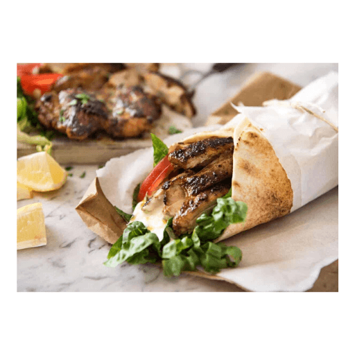 Chicken Shawarma Box, Cooked and Sliced, Frozen, Globe Meats