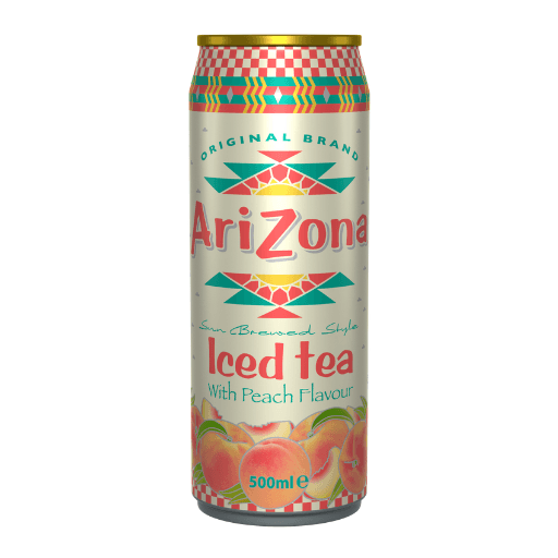 Arizona, Iced Tea with Peach Flavour, Can