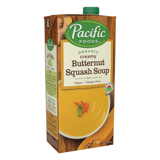 Organic Soup, Creamy Butternut Squash, Pacific Natural Foods