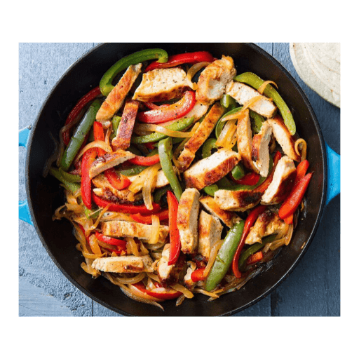 Chicken Fajita Box, Cooked, No Spice, Frozen, Globe Meats