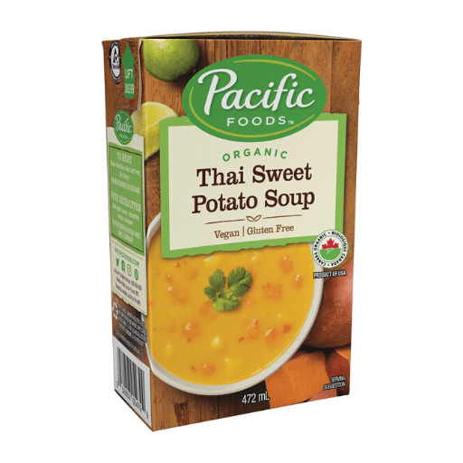 Organic Hearty Soup, Thai Sweet Potato, Pacific Natural Foods