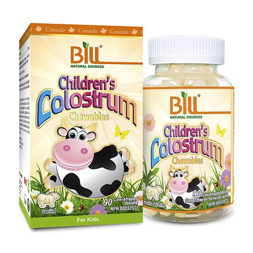 Bill Children's Colostrum, 90 chewable tablets