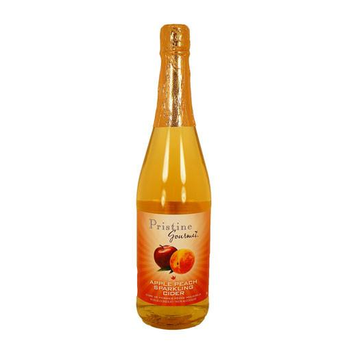 Sparkling Cider, Apple Peach Non-Alcoholic