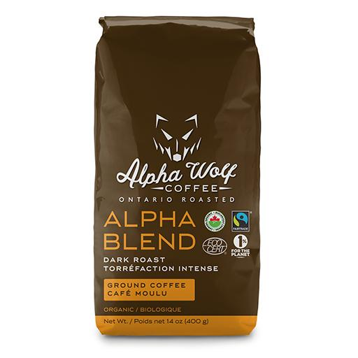 Dark Roast Ground Coffee, Organic