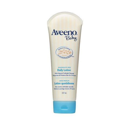 Aveeno Baby Fragrance Free Daily Lotion, 227ml