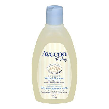 Aveeno Baby Lightly Scented Wash & Shampoo, Natural Oat Extract