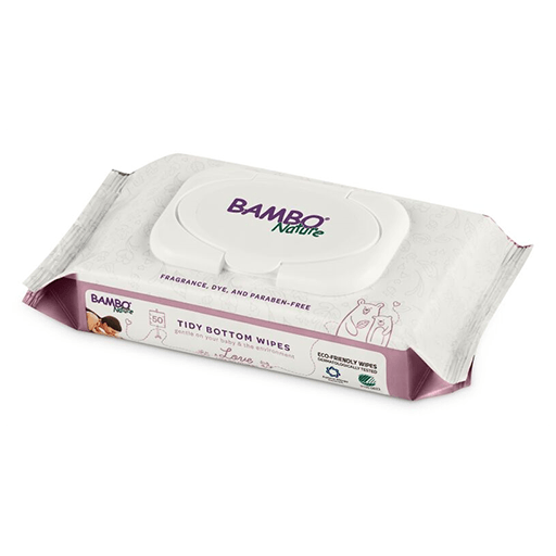 Bambo Nature Tidy Bottom Wet Wipes