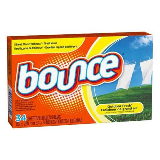 Bounce Fresh Linen Fabric Sheets