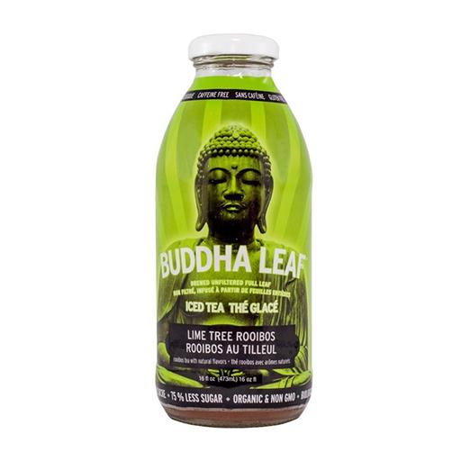 Buddha Leaf Iced Tea, Lime Tree Rooibos, Caffeine Free