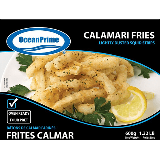 Squid, Calamari Fries, Frozen
