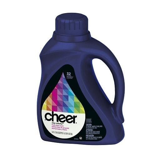 Cheer Stay Colourful Fresh Clean Scent, 32 Loads