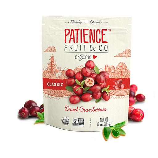Classic Dried Cranberries, Organic, Patience