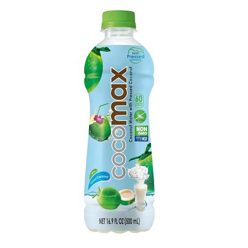 Coconut Water with Pressed Coconut, COCOMAX, Small