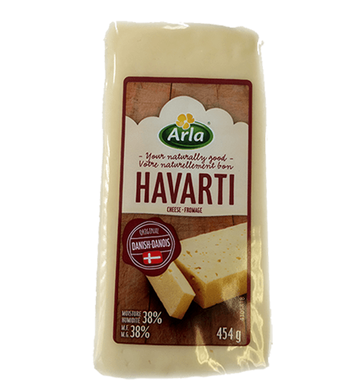 Cheese, Danish Havarti - Arla