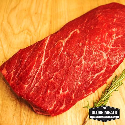 Flat Iron Steak, Ontario AAA, Fresh, Individually Vacuum Packed
