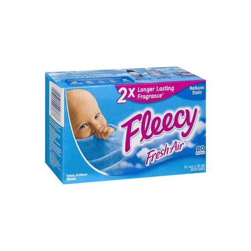 Fleecy Fresh Air Softener Sheet