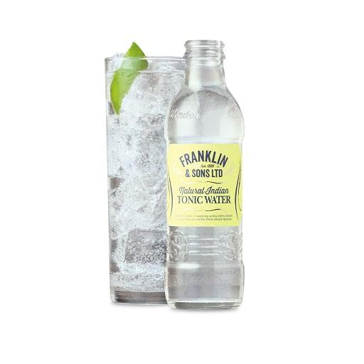 Franklin & Sons Handcrafted Premium Tonic Water, Natural Indian