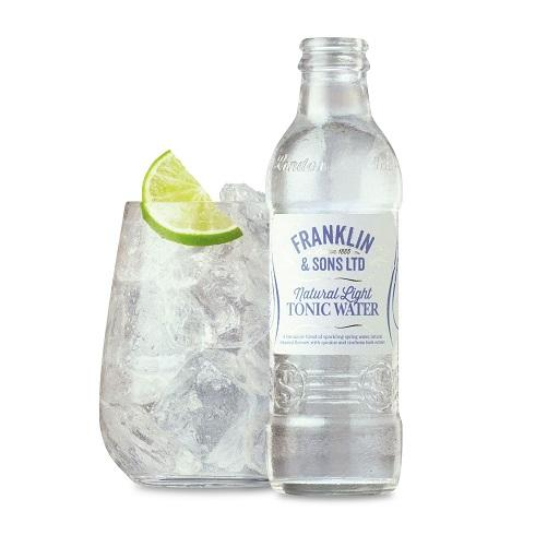 Franklin & Sons Handcrafted Premium Tonic Water, Natural Light