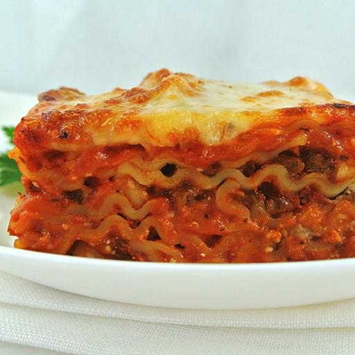 Prepared Single Meal, Meat Lasagna, Refrigerated