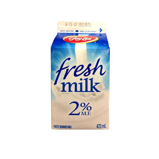 Milk, 2% - Gay Lea 473ML - Penguin Fresh