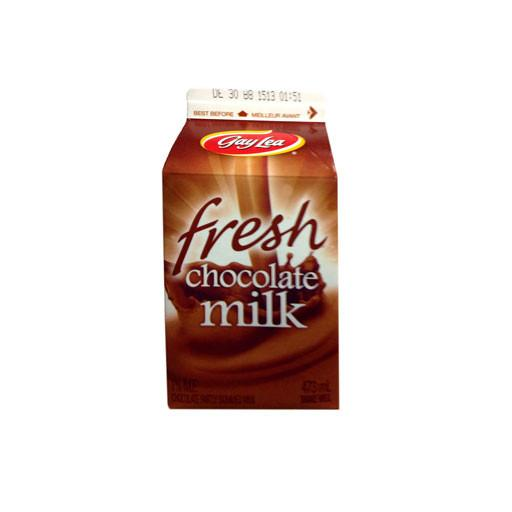 Milk, 1% Chocolate Milk - Gay Lea 473 ml - Penguin Fresh