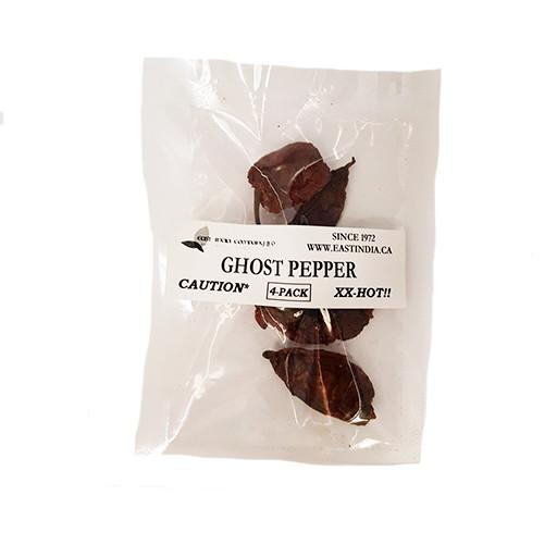 Ghost Chillies, 4 chillies per pack