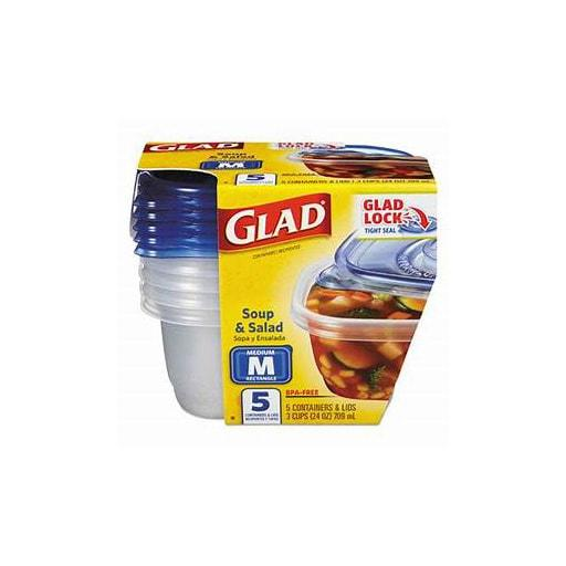 GladWare Soup & Salad Containers