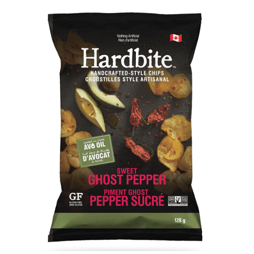 Hardbite Homegrown Potato Chips, Sweet Ghost Pepper with Avocado Oil