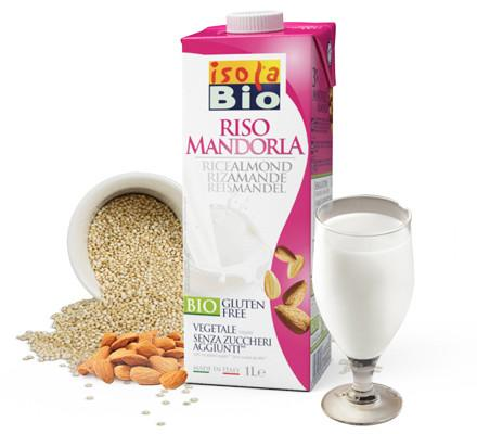 Isola Bio® Vegan Organic Rice And Almond Beverage