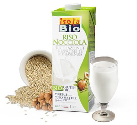 Isola Bio® Vegan Organic Rice And Hazelnut Beverage