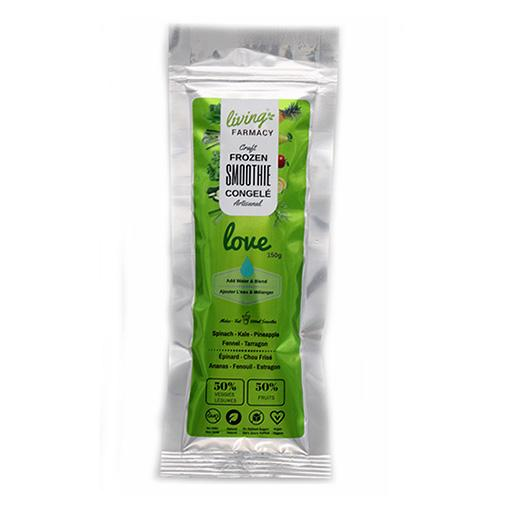 Frozen Craft Smoothie, Love Green, Living Farmacy
