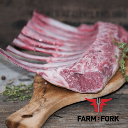 Frenched Lamb Racks, Free From