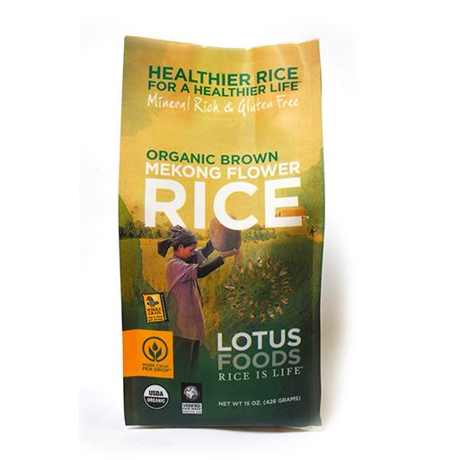 Lotus Foods Inc, Organic Mekong Flower Brown Rice