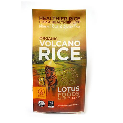 Lotus Foods Inc, Organic Valcano Rice
