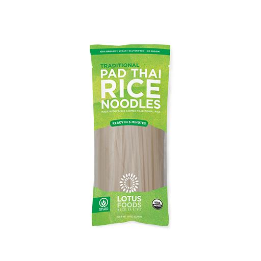 Lotus Foods Inc, Traditional Pad Thai Rice Noodles, Heirloom Rice