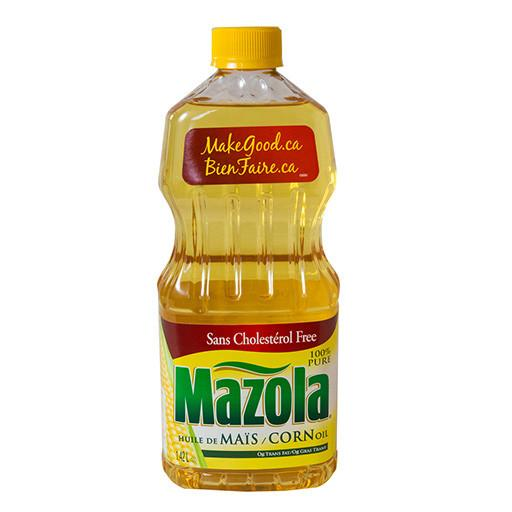 Corn Oil, Mazola